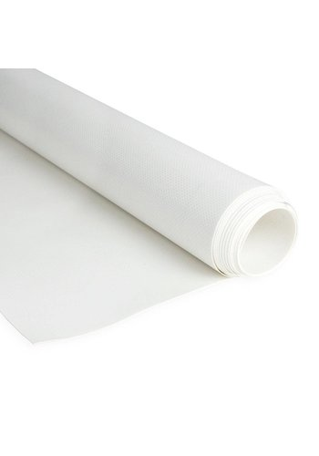 2,5m Wit 650gr/m2 Brandvertragend PVC zeildoek