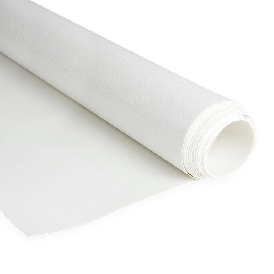 2,5m rolbreedte Wit brandvertragend B1 DIN 4102-1 650gr/m2 PVC zeildoek
