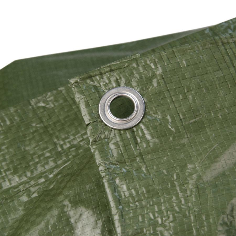 Afdekzeil PE Groen 4x5 Bouwzeil 100gr Polyethyleen