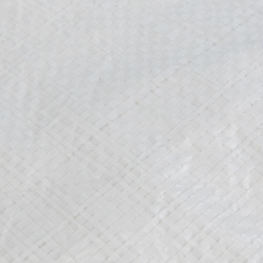 Afdekzeil PE Wit 4x8 Bouwzeil 250gr Polyethyleen