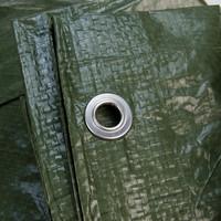 Afdekzeil PE Groen 10x15 Bouwzeil 250gr Polyethyleen