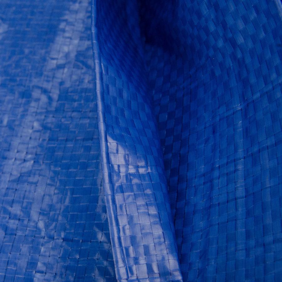 Afdekzeil PE Blauw 6x10 Bouwzeil 250gr Polyethyleen
