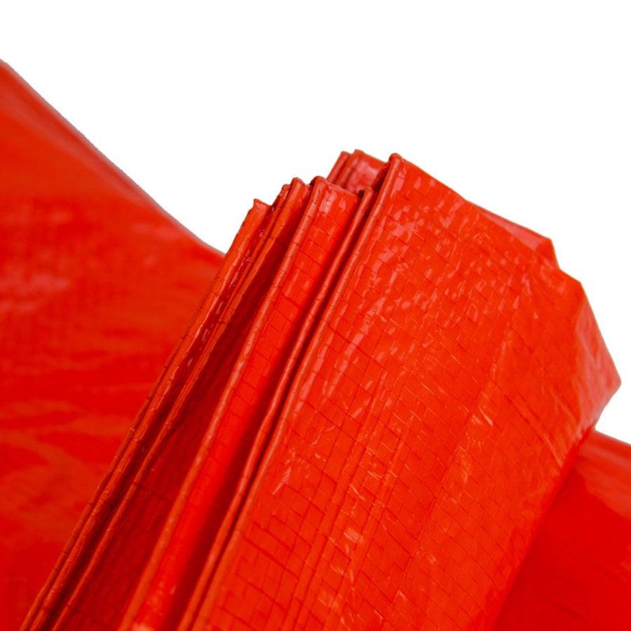 Afdekzeil PE Oranje 2x3 Bouwzeil 100gr Polyethyleen