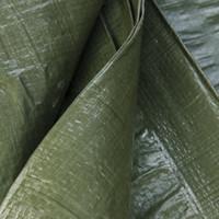 Afdekzeil PE Groen 8x12 Bouwzeil 250gr Polyethyleen