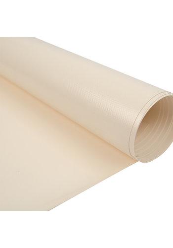 2,67m Creme RAL1013 680gr/m2 PVC zeildoek