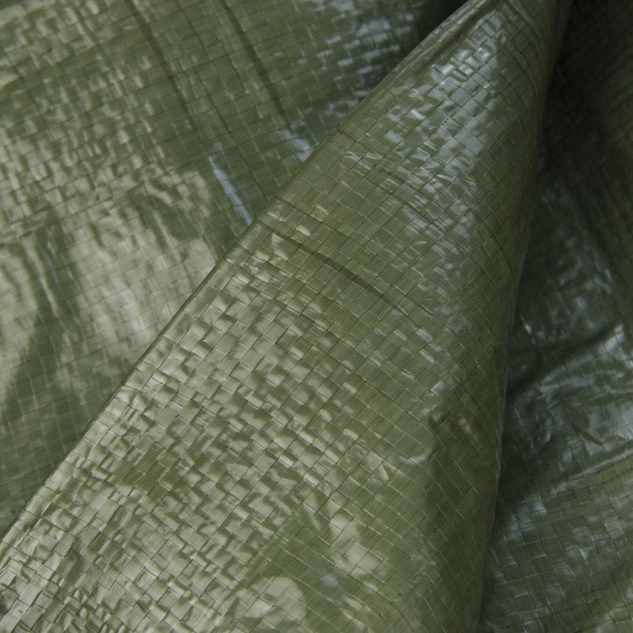 Afdekzeil PE Groen 4x6 Bouwzeil 150gr Polyethyleen