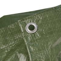 Afdekzeil PE Groen 6x8 Bouwzeil 150gr Polyethyleen