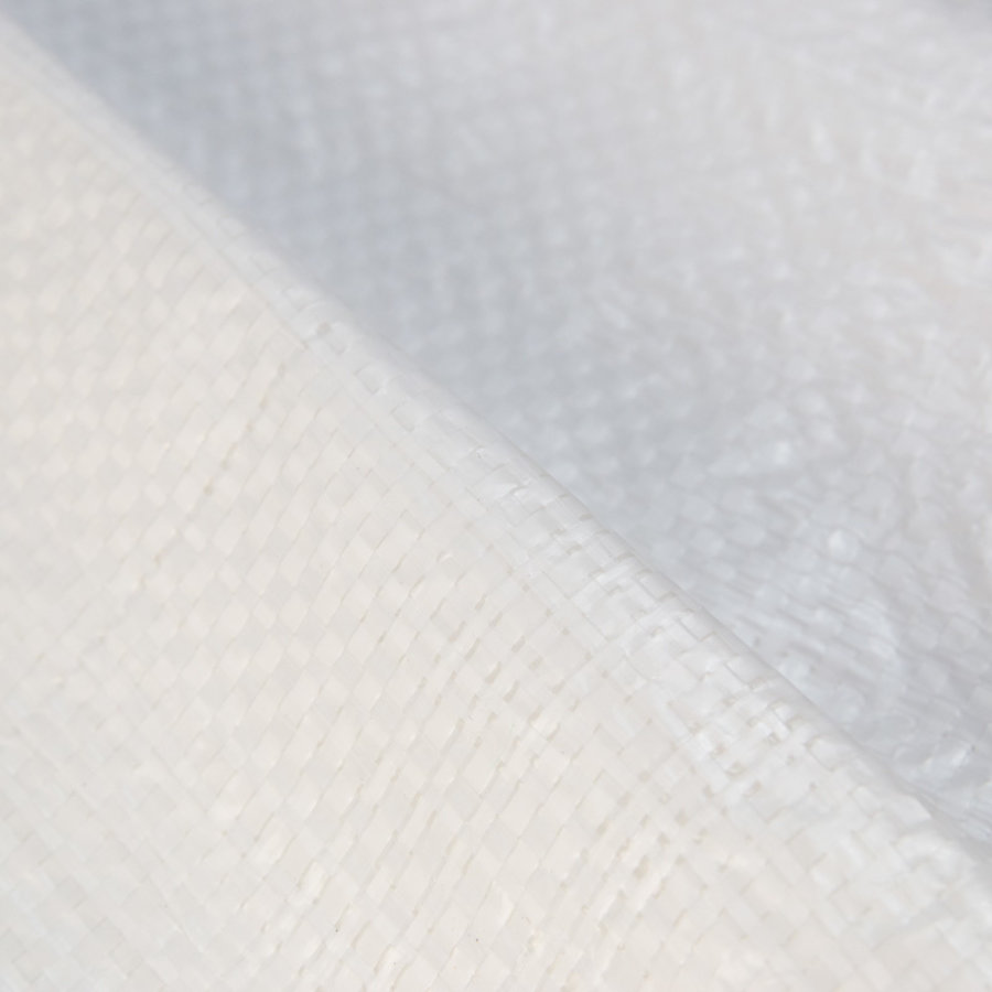 Afdekzeil PE Wit 10x15 Bouwzeil 150gr Polyethyleen