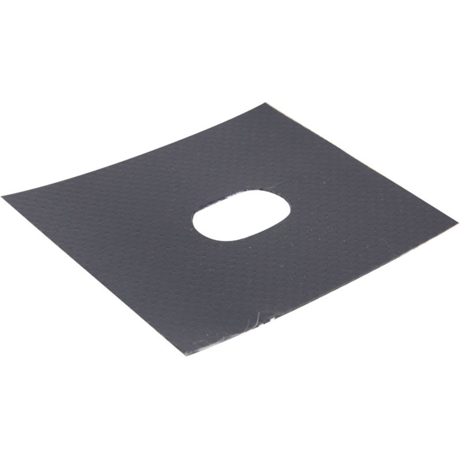 Holpijp 22,5x13,5mm ovaal professioneel