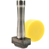 Holpijp 42x22mm ovaal rvs professioneel