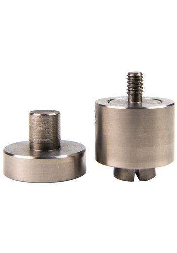 Stempel 8, 10, 12mm voor handpers