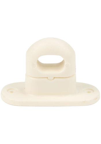 Tourniquet 42x22mm crème kunststof