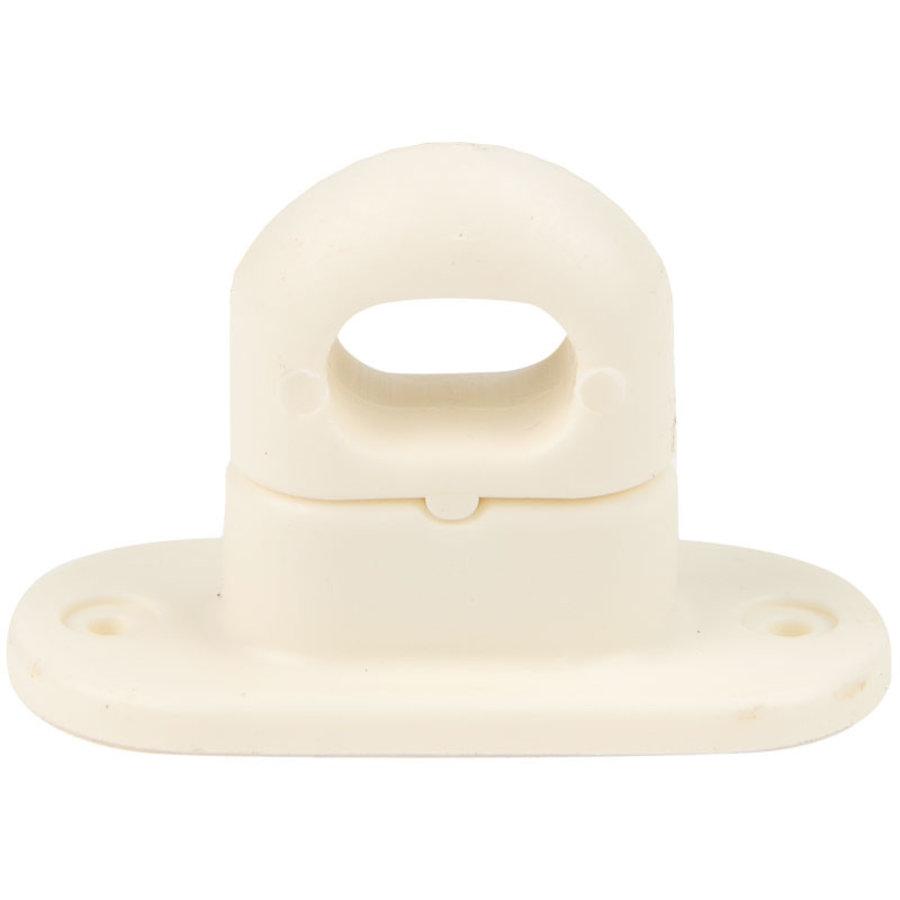 Tourniquet 42x22mm draaisluiting crème kunststof professioneel