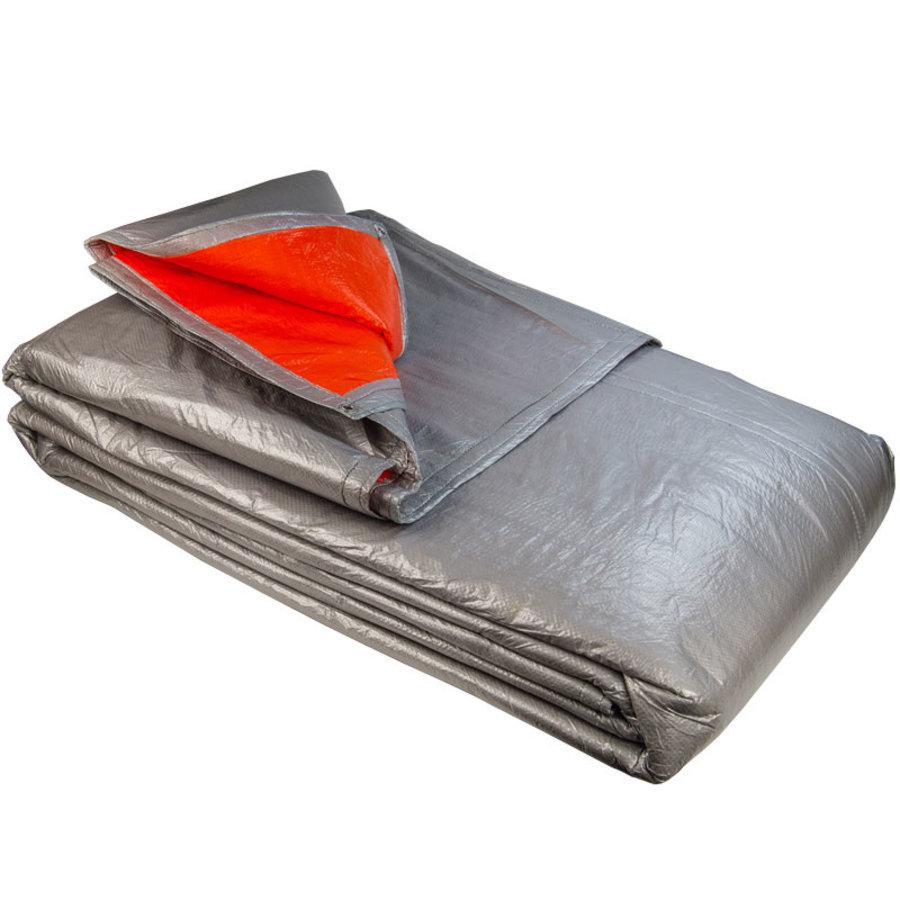 Isolatie dekzeil foam pe 250gr oranje zilver
