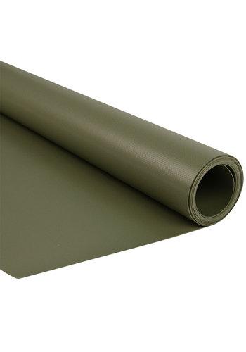 2,5m groen mat 680gr pvc zeil