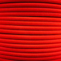Elastisch koord 6mm rood op rol