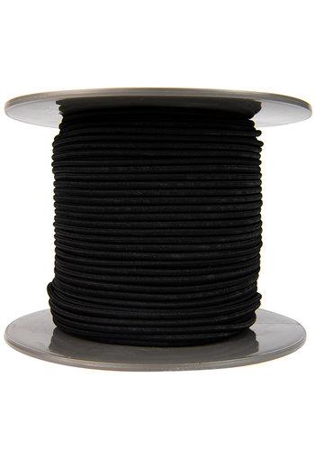 Elastisch koord 4mm zwart