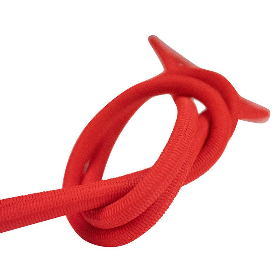 Elastisch koord 10mm rood op rol