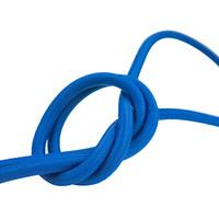 Elastisch koord 4mm blauw op rol