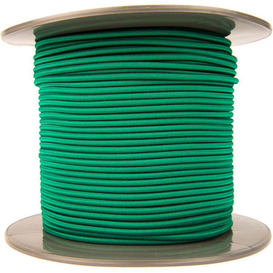 Elastisch koord 4mm groen op rol
