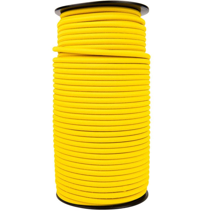 Elastisch koord 8mm geel op rol