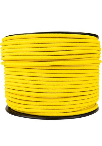 Elastisch koord 6mm geel