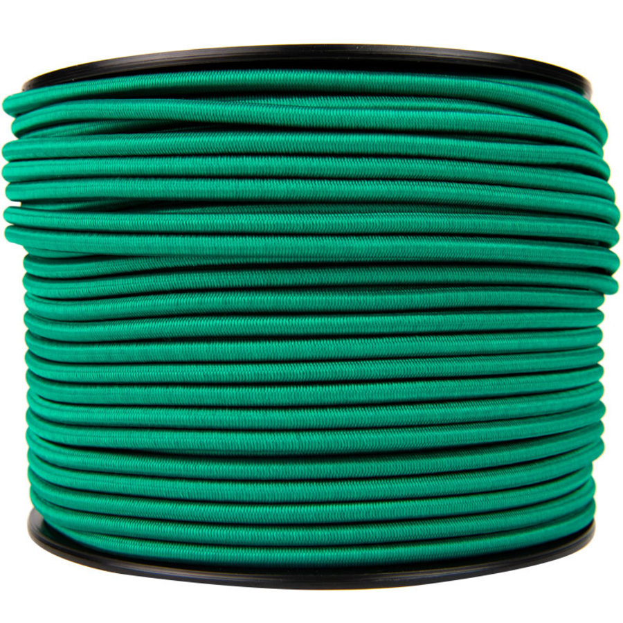 Elastisch koord 8mm groen op rol
