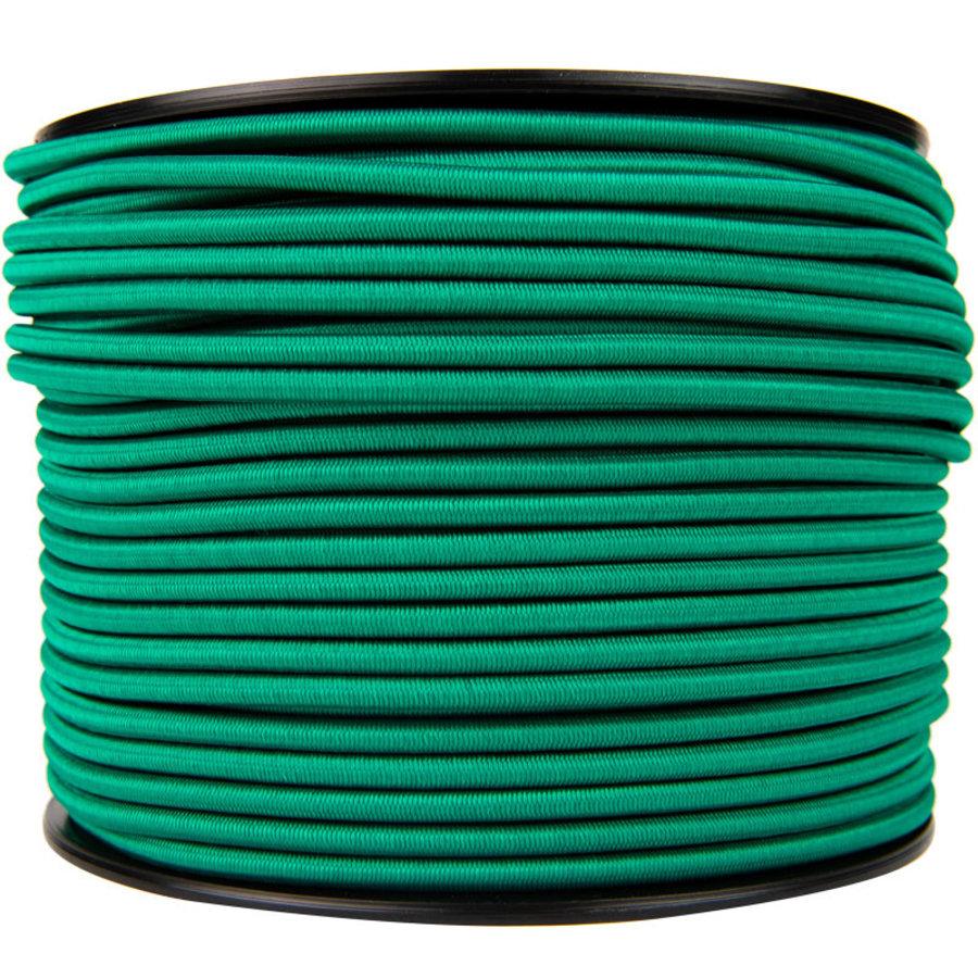 Elastisch koord 10mm groen op rol