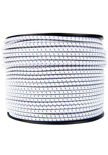 Elastisch koord 6mm blauw-wit gestreept