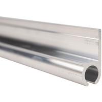 Caravanrail 7mm 99cm aluminum Railprofiel recht 180 graden Kederprofiel voor caravanpees
