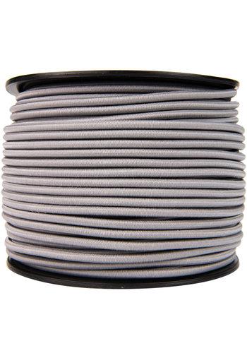 Elastisch koord 8mm grijs