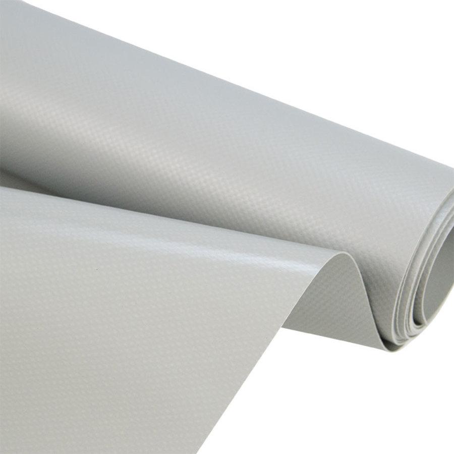 2,5m rolbreedte Grijs Ral 7035 680gr/m2 PVC zeildoek