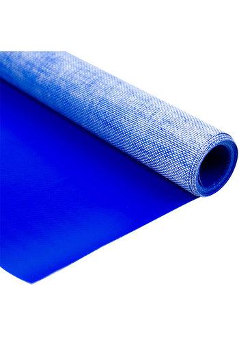 2,04m blauw 320gr pvc zeil