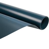 2,5m grijs 680gr pvc zeil per meter van de rol zomerkleed bootzeil