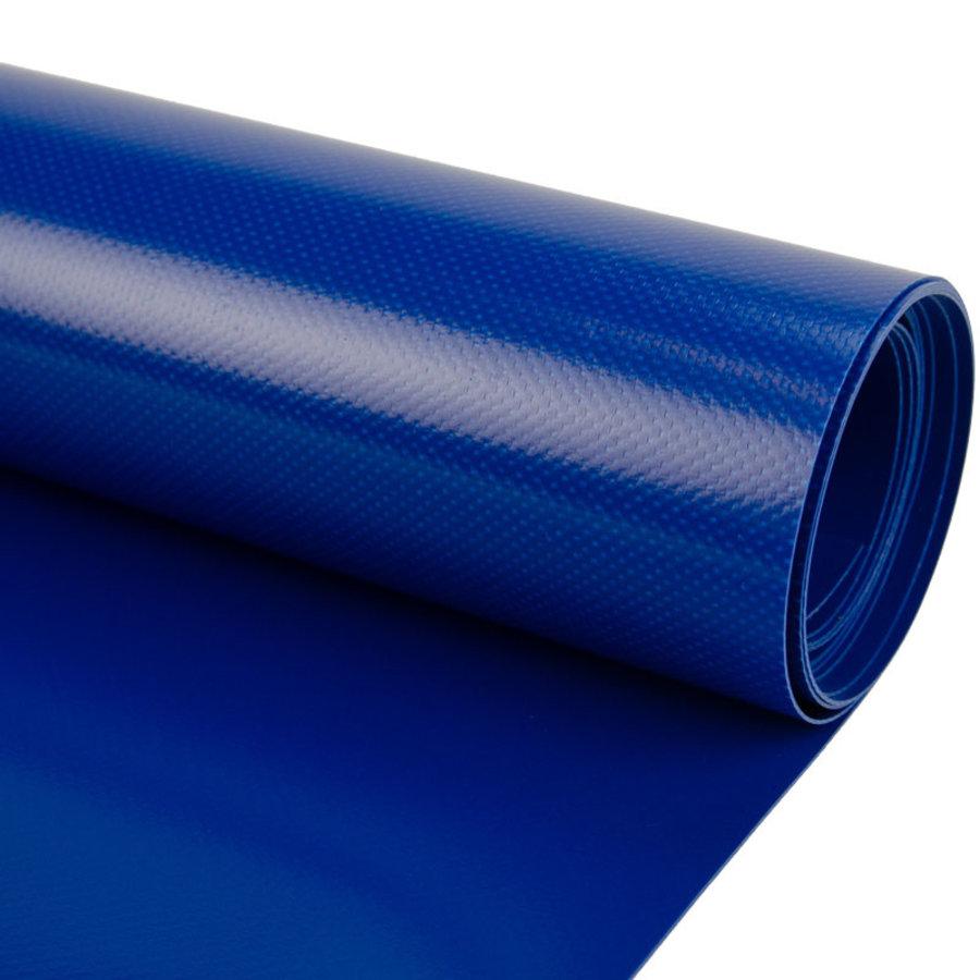 2,5m rolbreedte Blauw 680gr/m2 PVC zeildoek