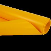 2,5m geel 680gr pvc zeil per meter van de rol