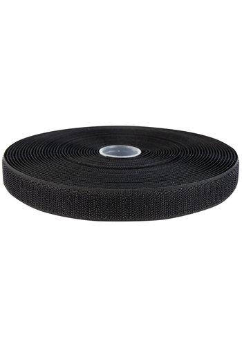 Klittenband 20mm naaibaar haak zwart