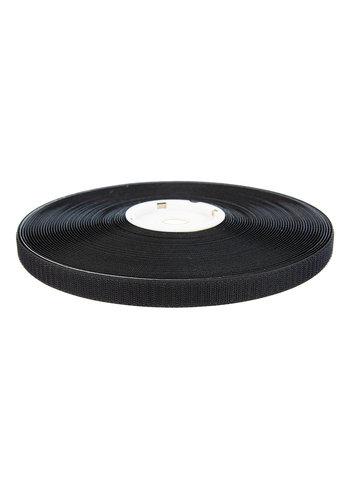 Klittenband 20mm zelfklevend hotmelt haak zwart
