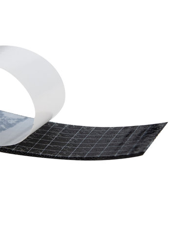 Klittenband 20mm zelfklevend acryl lus per meter