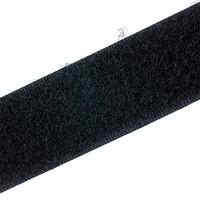 Klittenband 20mm naaibaar lus zachte kant zwart