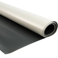 3m wit grijs 730gr pvc zeildoek
