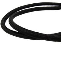 Snelbinder 120cm zwart PP 2 spinhaken