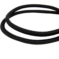 Snelbinder 100cm zwart PP 2 spinhaken