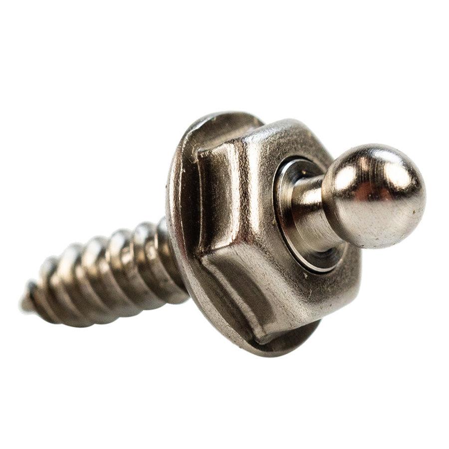 Loxx rvs Drukknopen Schroefbaar 12mm 316
