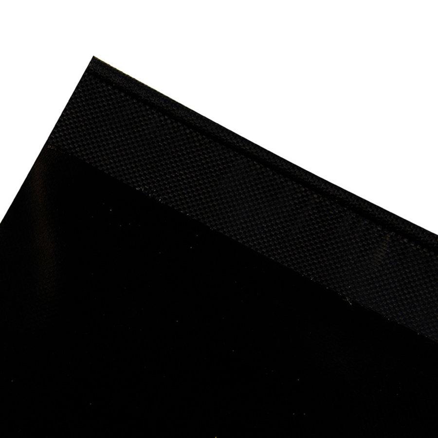 Caravanpees 7mm zwart enkele vlag