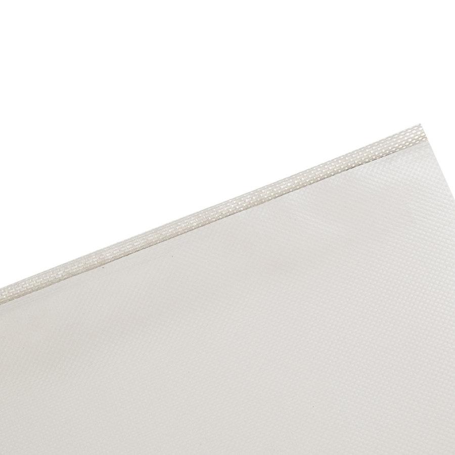 Caravanpees 7mm wit enkele vlag