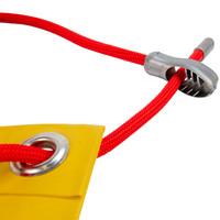Easyfix elastiek snelbinder 8mm x 8m rood