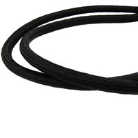 Snelbinder 80cm zwart PP 2 spinhaken