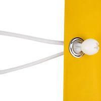Spanner met bal 25cm elastiek wit