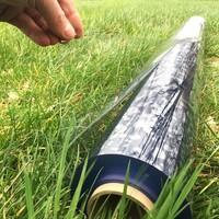 0,3mm 140cm Transparant/doorzichtig PVC raamzeil per meter